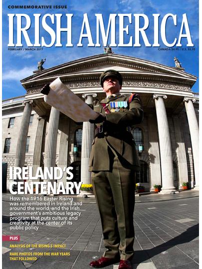 Irish America Magazine, the leading glossy of Irish interest in America.